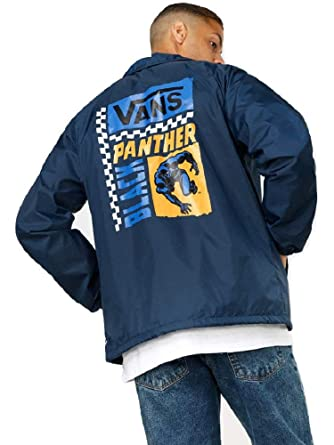 f5e05ddb26 Image Unavailable. Image not available for. Color  Vans X Marvel Torrey  Black Panther Men s Jacket ...
