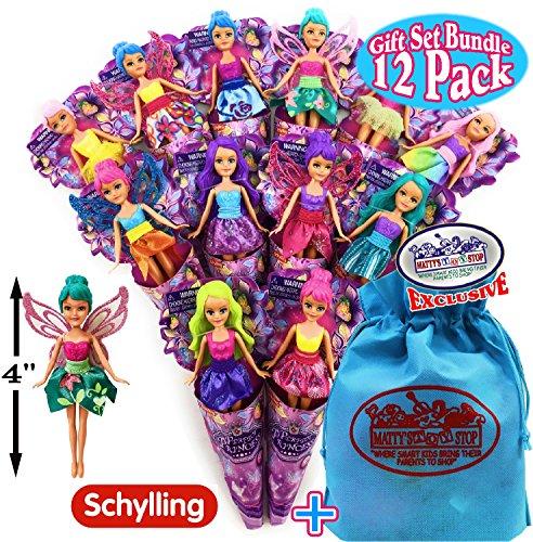 Schylling Perfect Princess Mini Fairy Dolls (4