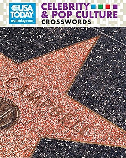 Usa Today Celebrity Pop Culture Crosswords Payne Trip Shenk Mike Leighton Robert Goldstein Amy 9781402750755 Amazon Com Books