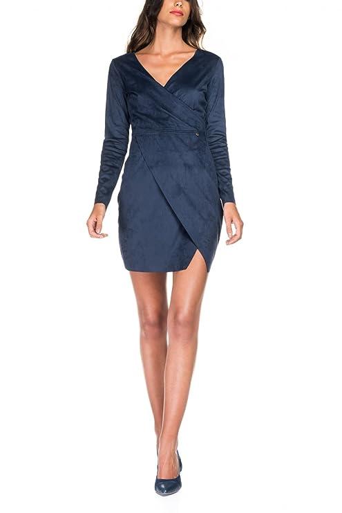 Salsa - Vestido - Casual - para Mujer Azul XL: Amazon.es: Ropa y accesorios