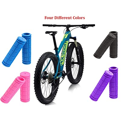 2Pcs//set Anti-slip MTB Bike Cycle Silicone Foam Handle Handlebar Grip Slip-Proof