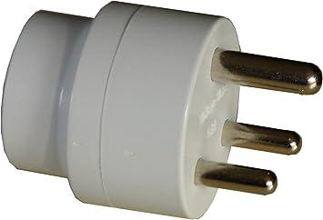 Grounded adaptador de enchufe nosotros para Sudáfrica y antiguos partes de Irlanda gue Certificado por la CE: Amazon.es: Electrónica