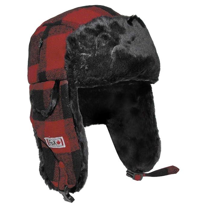 Sombrero de leñador con Piel 2035f80758d