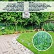 100 Extra Heavy Duty Galvanized Anti-Rust Garden Landscape Staples Stakes Pins - Made in USA - Strong Pro Quality. Best Weed Barrier Fabric, Lawn Drippers, Irrigation Tubing Wireless Dog Fence