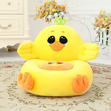 Miraculous Lovehome Plush Bean Bag Chair Duck Frog Animal Kid Sofa Childrens Furniture Lazy Baby Stool Chair For Bog Girl Gifts Yellow 45X40X20Cm 18X16X8 Squirreltailoven Fun Painted Chair Ideas Images Squirreltailovenorg