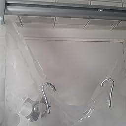 Sealskin Easy Roll Juego de Barra Angular, Raíl para Cortina de Ducha, Metal, Plateado, 2,8x90x1,6 cm: Amazon.es: Hogar