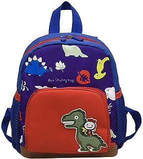 Borsa a tracolla per bambini, motivo: dinosauro, con carrozzina