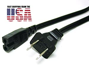 6FT EURO PRO 6015, 9015, 9101, 9105, 9110, 9125 SHARK SEWING MACHINE PREMIUM Replacement AC POWER CORD CABLE