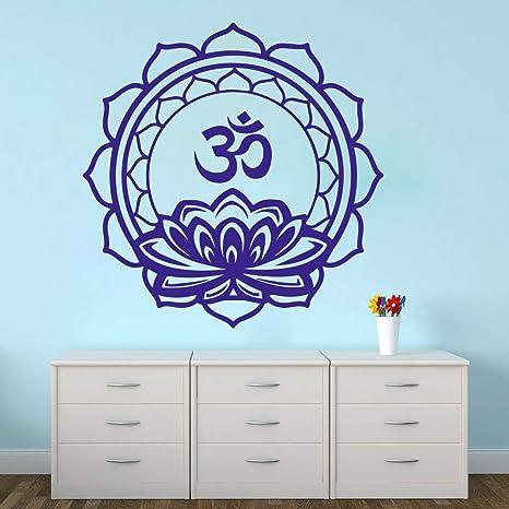 Gran Mandala Lotus Meditación Yoga Tatuajes de pared ...