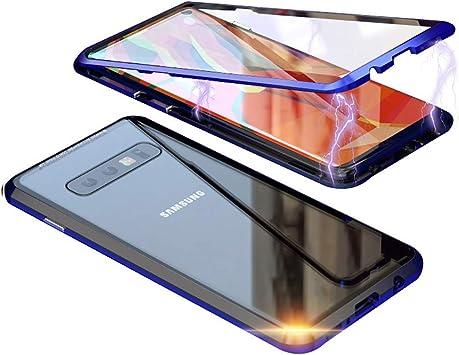 Estuche Magnético para Samsung S10 Plus, Estuche Magnético para Samsung S9 Plus, Estuche para Teléfono Magnético con Doble Cara(For Samsung S9 Plus, Blue): Amazon.es: Electrónica