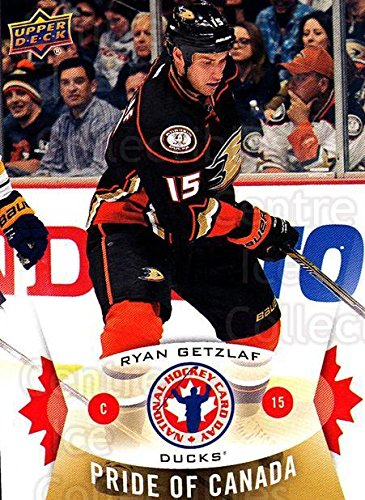 (CI) Ryan Getzlaf Hockey Card 2015 Upper Deck National Hockey Card Day Canada 3 Ryan Getzlaf (Upper Canada Duck)