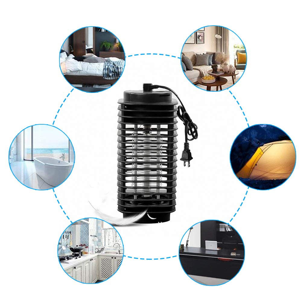 Mimiga Insect Killer Electric UV Insect Trap Mosquito Lamp Intelligent Mosquito Killer Indoor Outdoor Use