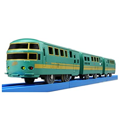 NEW JAPAN TOMY S-21 JR KYUSHU FOREST OF YUFUIN MOTORISED BATTRY TRAIN (2 SPEED): Toys & Games