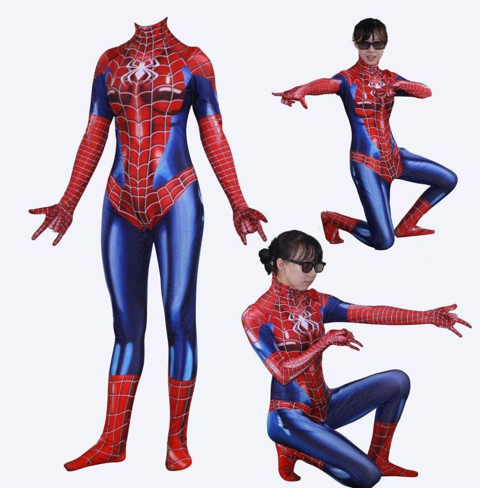 JUFENG Spiderman Anime Disfraz Adulto/Niño Usar Derechos De ...