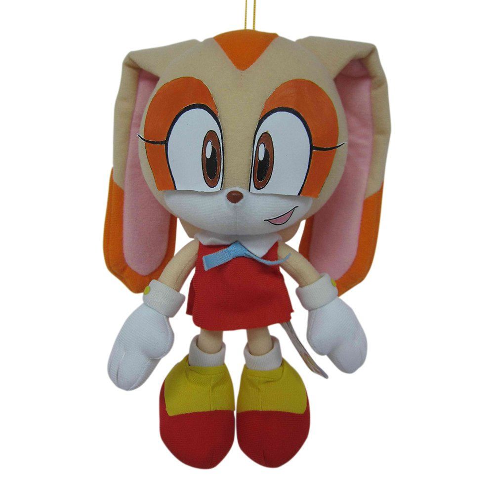 "Great Eastern Sonic The Hedgehog Cream The Rabbit 7.5"" Plush"