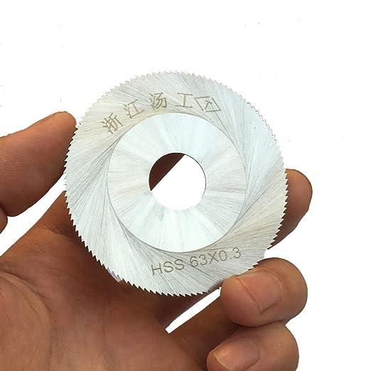 novellife 63 x 0.3 mm 120T HSS hoja de sierra circular para ...