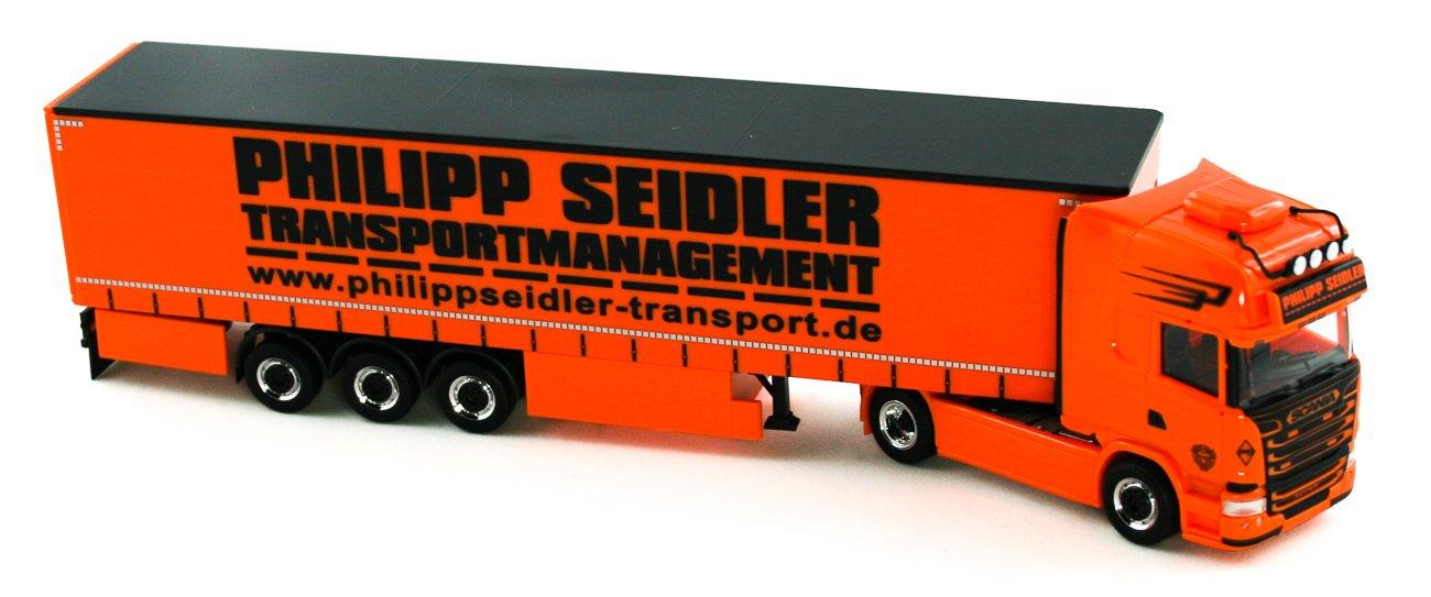 Herpa 926744 - Scania R '13 TL Gardinenplanen-Sattelzug