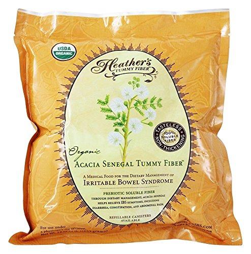 Heather's Tummy Care - Tummy Fiber Organic Acacia Senegal Powder Pouch - 16 oz.