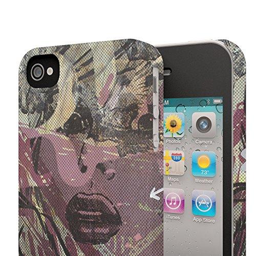 Koveru Back Cover Case for Apple iPhone 4/4S - Girl in danger