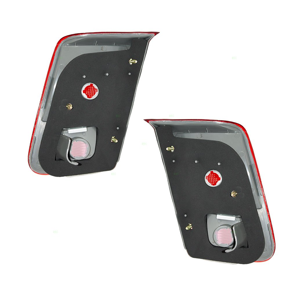 Driver and Passenger Taillights Tail Lamps Replacement for Honda 34156-S5A-A01 34151-S5A-A01 AutoAndArt