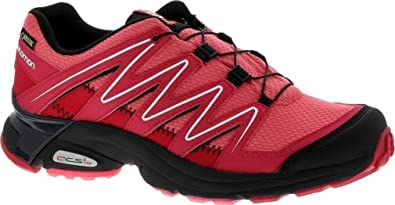 NEU XT Atika 2 GTX Salomon Size 6 Damen Laufschuhe Rot Schwarz Weinrot 4ceb2585ee