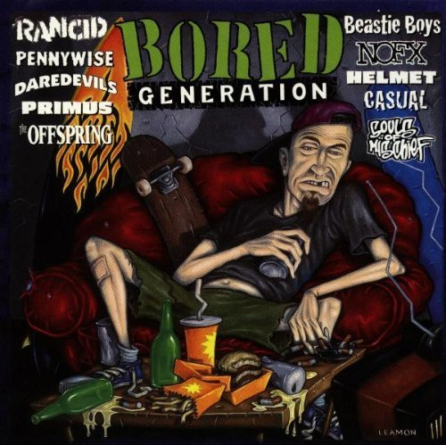 Bored Generation [Enhanced CD] by Various Artists (1996-08-06)