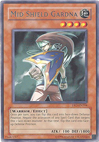 Yu-Gi-Oh! - Mid Shield Gardna (DR3-EN204) - Dark Revelations 3 - Unlimited Edition -