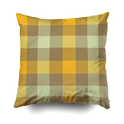 GROOTEY XMas Decorative Square Pillow Case Covers with Zippered Closing for Home Sofa Decor Size 16X16 Inch Costom Pillowcse Throw Cover Cushion ...