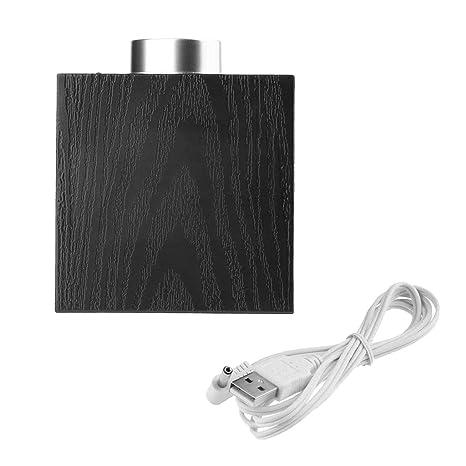 D DOLITY Reloj Digital Tipo de Pantalla LED Ajustará Automáticamente Brillo Termómetro Duradero - Blanco