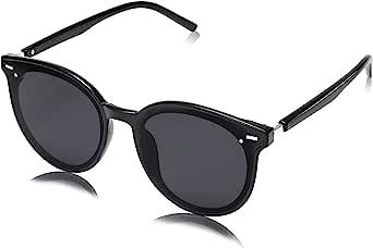 SOJOS Gafas De Sol Para Mujer Hombre Marco Plastico Redondo Retro BLOSSOM SJ2067