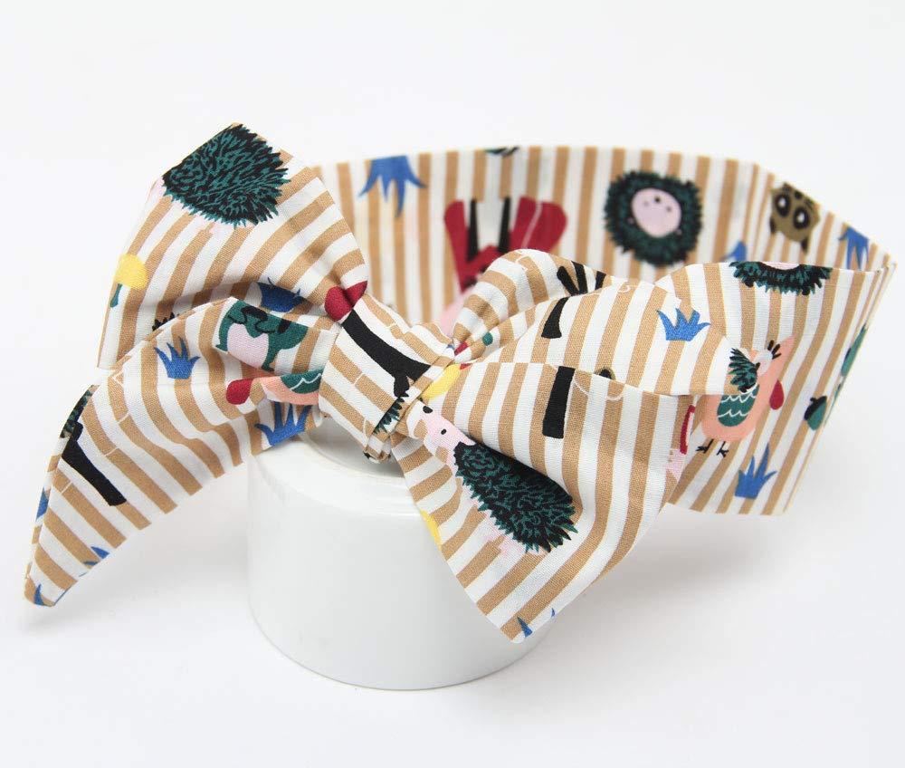 Fascia Capelli Bambina Topgrowth Bowknot Cerchietti E Fasce per Capelli Neonata Stampa Floreale Accessori per Capelli Elastica