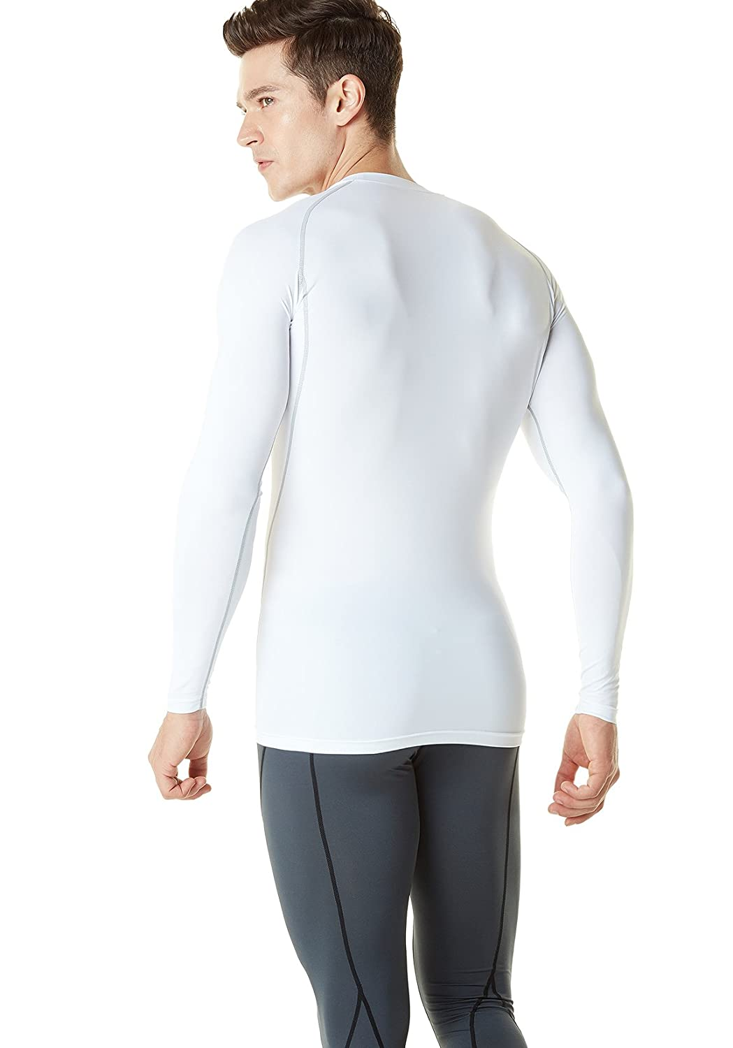 TSLA Mens Thermal Wintergear Compression Baselayer Tops