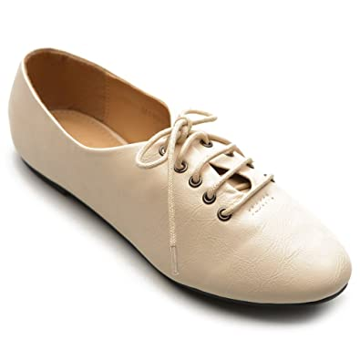 Women's Comfort Multicolored Shoelace Skate Shoes Oxford Shoes
