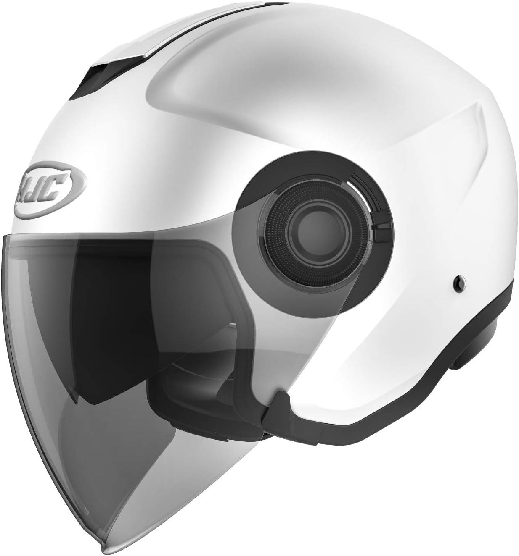 Casque moto HJC i40 PEARL WHITE XS Blanc