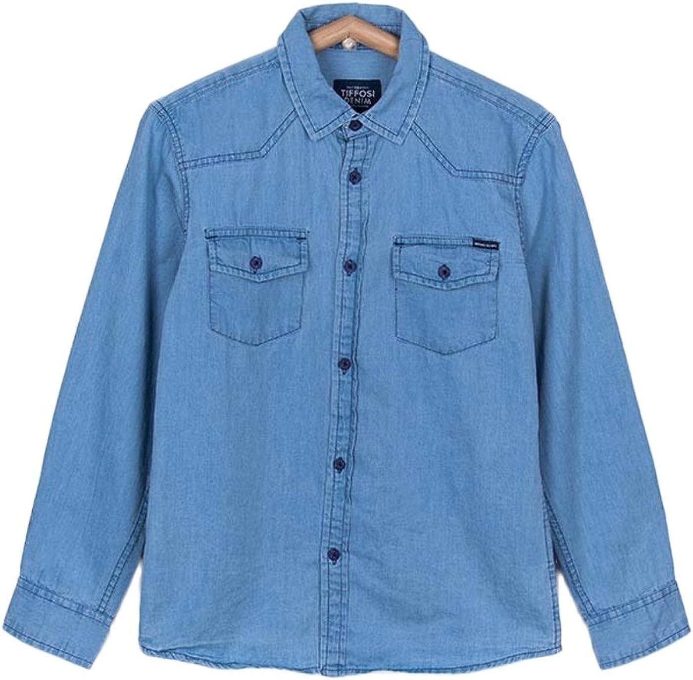 Tiffosi Camisa Niño Ethan Azul: Amazon.es: Ropa y accesorios