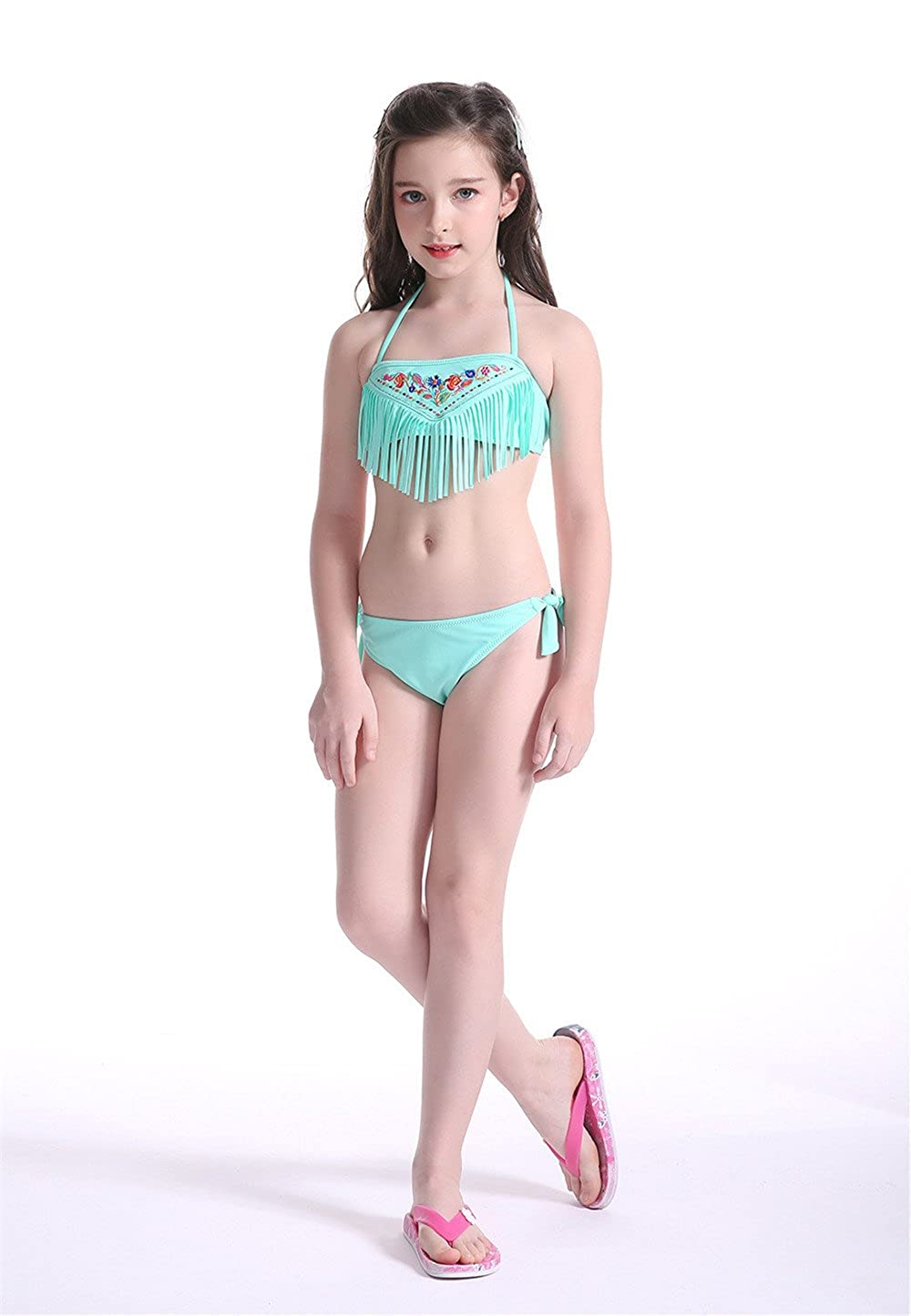 the best attitude more photos official sale Amazon.com: NHockeric Kids Girls Two Piece Swimsuits Set ...