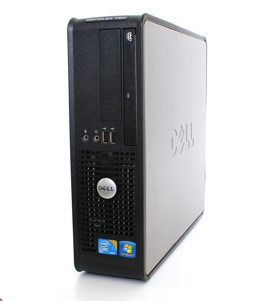 Dell OptiPlex Desktop (Intel Core2Duo 2.0GHz CPU, 160GB, 4GB Memory, Windows 7 Professional 32-Bit) w/ 19in LCD Monitor (brands may vary) (Certified Refurbished) by Dell (Image #3)