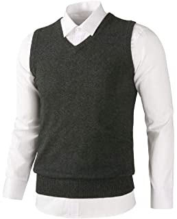 WSPLYSPJY Mens Casual Full Zip Up Sweaters Lightweight Slim Fit Cardigans