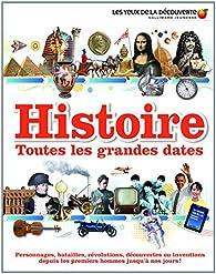 Histoire: Toutes les grandes dates par Peter Chrisp
