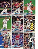 Washington Nationals / Complete 2018 Topps Series 1 & 2 Baseball 28 Card Team Set! Includes 25 bonus Nationals Cards!