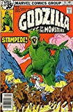 #5: Godzilla #15 VF ; Marvel comic book