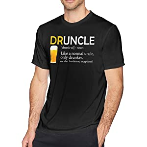 68ec372b Amazon.com: Mens Worlds Greatest Drunkle Funny Drunk Uncle Family ...