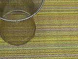 Chilewich Shag Indoor/Outdoor Floormat Big Mat 36'' X 60'', Citron