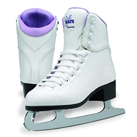 Jackson Ultima GS180 SoftSkate Womens Ice Skates Blue, Fleece, Pink, Purple