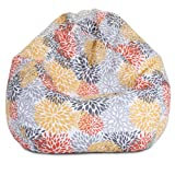 Majestic Home Goods Citrus Blooms Small Bean Bag