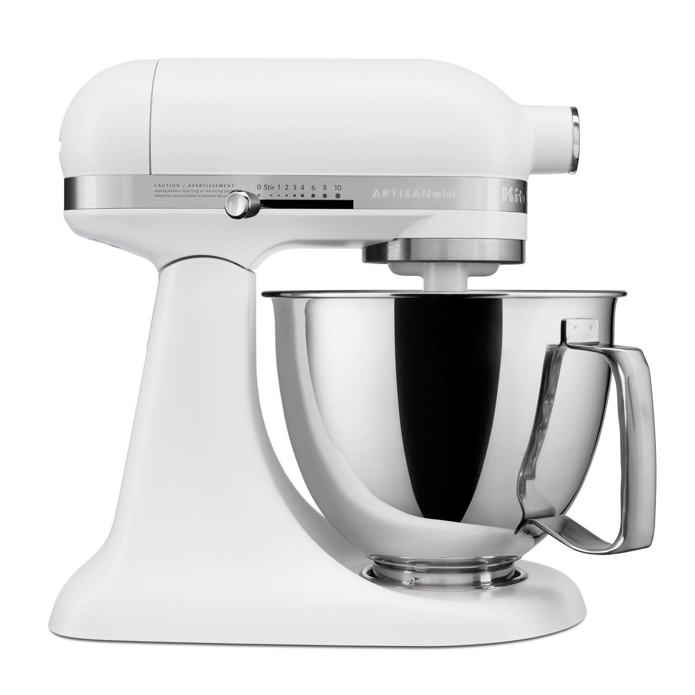 Kitchenaid Ksm3316xfw Artisan Mini Stand Mixers 3 5 Quart Matte White