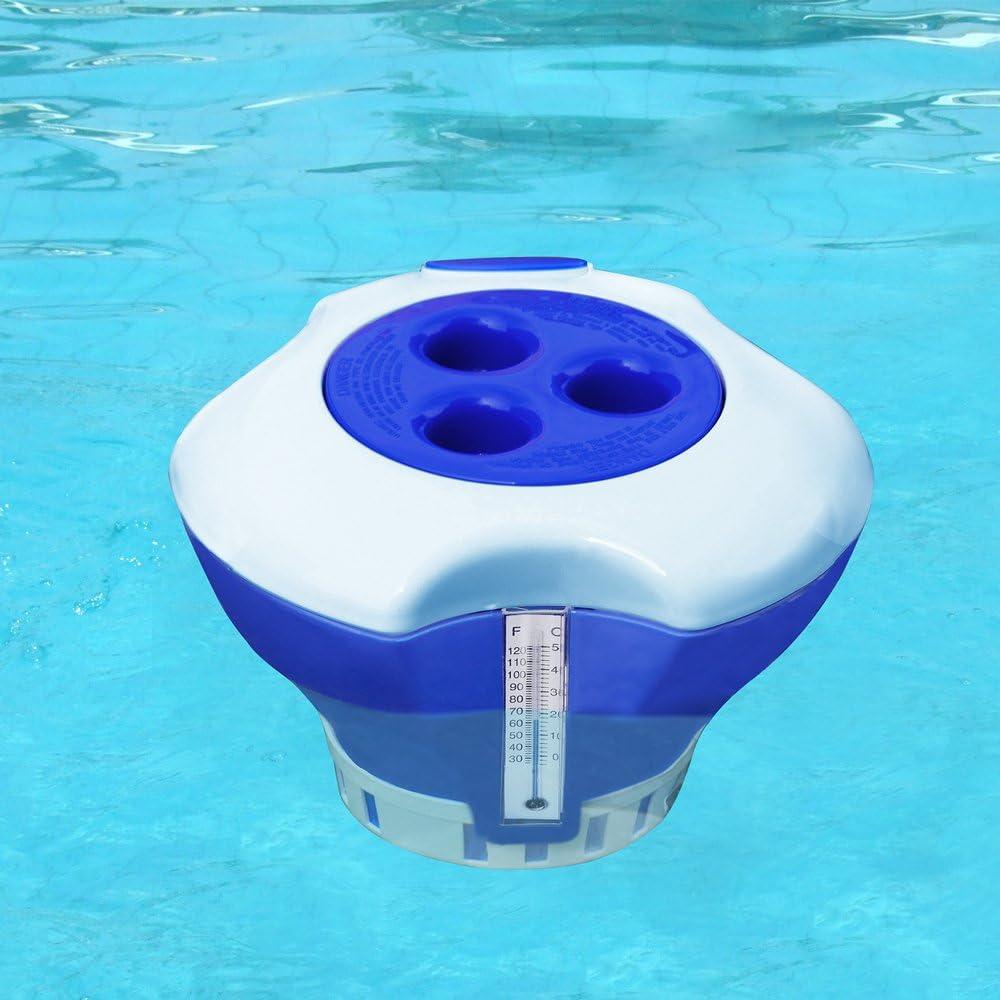 Dosierschwimmer GROSS Chlor Dosierer Schwimmbecken Intex Bestway Chlordosierer