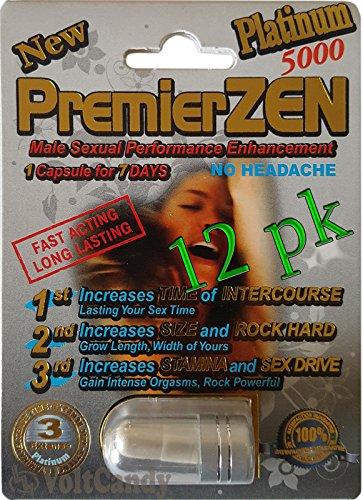 (PremierZEN Platinum 5000mg Male Sexual Performance Enhancement %100 AUTHENTIC (12))