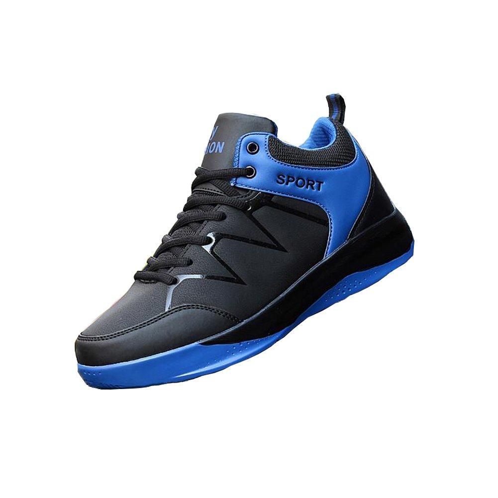 Zapatos YIXINY Deporte Invierno para Hombres Alta Estatales Deportivos Coreanos Aire Libre y Deporte (Color : 2, Tamaño : EU43/UK9/CN44) EU43/UK9/CN44 2
