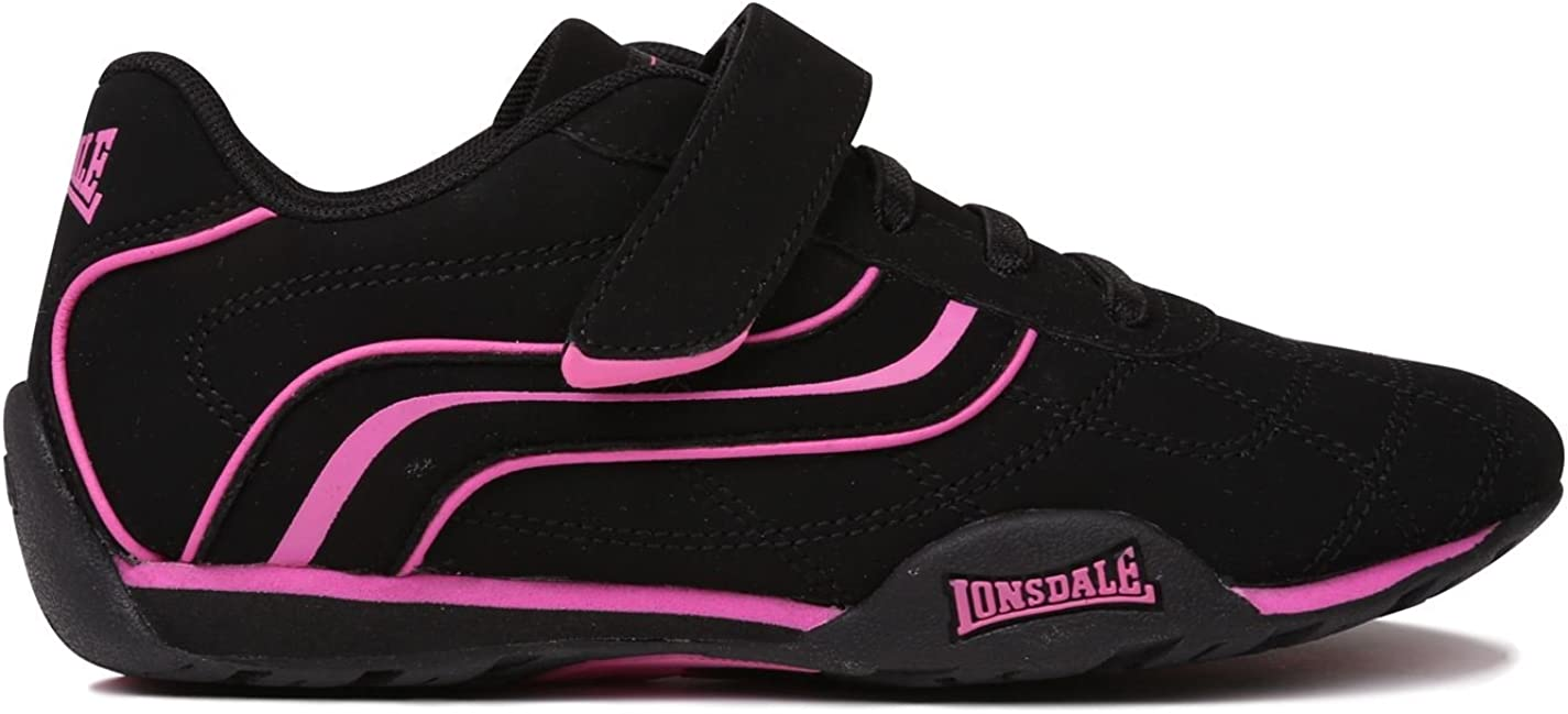 Lonsdale Kids Camden Childs Trainers Low Lightweight Profile